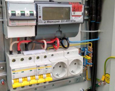 Услуга Подключение электричества