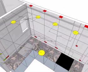 Услуга Проект электрики в 3D