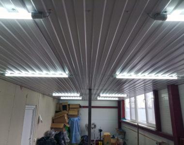 Услуга Освещение небольшого складского помещения 32 м²