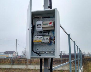 Услуга Подключение электроэнергии 15 кВт к участку